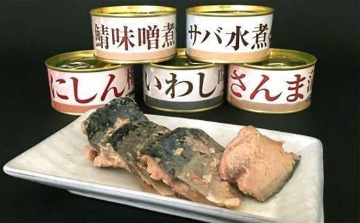 15-104 増量!人気のお魚缶詰セット