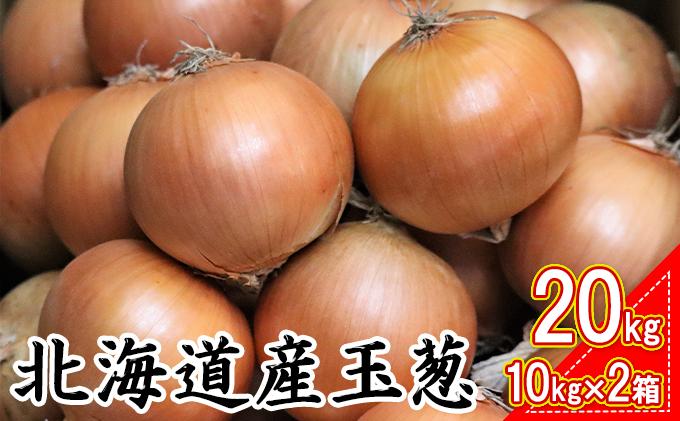 北海道産玉葱20kg !(10kg×2箱)
