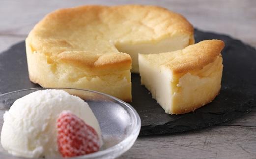 十勝産生乳の旨み!アイスクリーム(80ml×10個)とカマンベールチーズケーキのセット[C1-4]