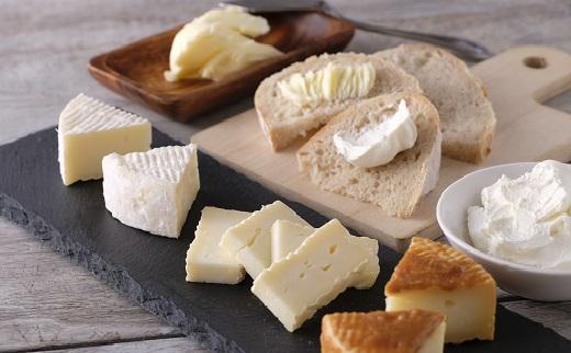北海道産の生乳使用!濃厚チーズ&バターの詰め合わせS(スペシャル)セット[C2-1]