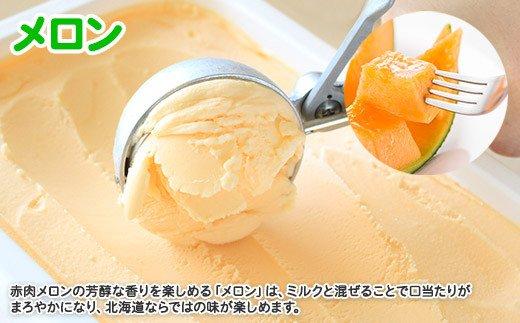 595.北海道 アイスクリーム メロン めろん ジェラート 業務用 2リットル 2L アイス 大容量 手作り 北国からの贈り物