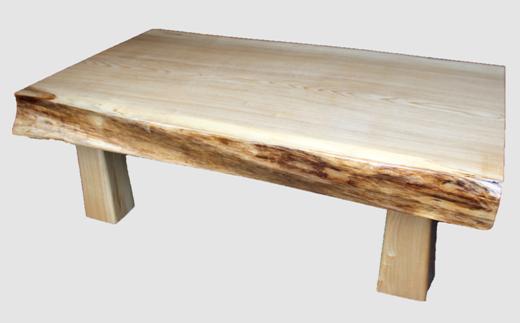 【06】座卓(テーブル)セン・一枚天板【厚さ約9.5cm】