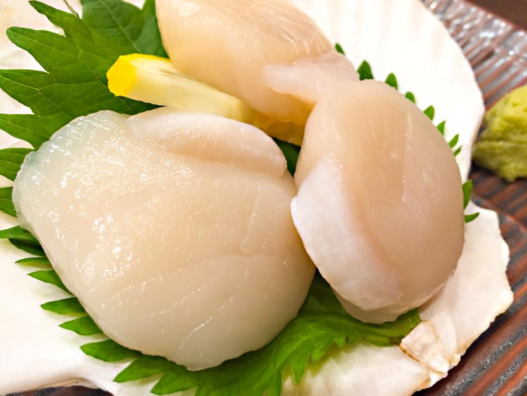 漁協から直送!大玉【特大ほたて】贅沢たっぷり1kg!【北海道野付産】