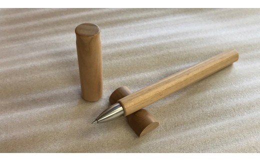 H6803 天然木のボールペンセット(ヤマザクラ)