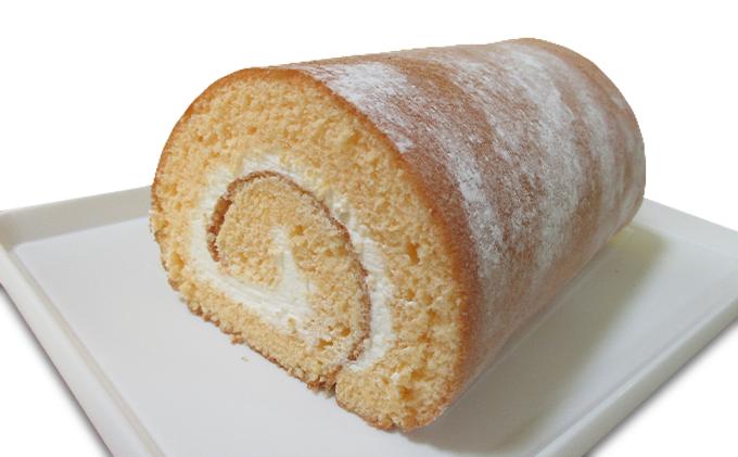 毎朝焼きたてロールケーキ(プレーン)