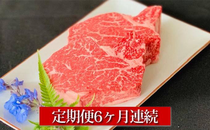 【定期便】【国産】牛ヒレステーキ150g×2 6ヶ月連続お届け