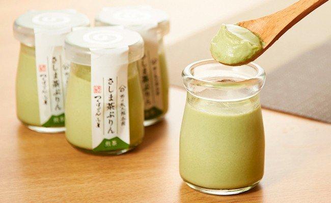 老舗茶園の特製スイーツ さしま茶ぷりん9個セット(ぷりん専門店つくばぷりんとコラボ!)
