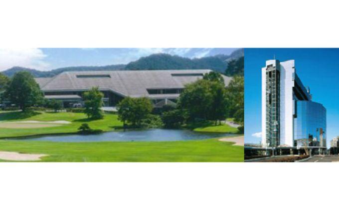 飯能グリーンカントリークラブ 高級ホテル宿泊付き平日ゴルフプレー券(1名様)+同伴者優待セット