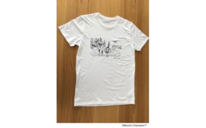 ムーミン オーガニックコットンTシャツ(ビーチ)XSサイズ