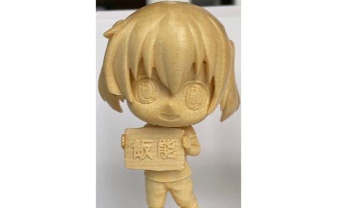 ヤマノススメ 木彫り人形 ひなた