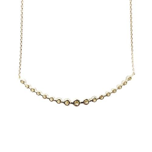 甲府市で製造 18金製 ハート&キューピッドダイヤモンド1.0ct ペンダントネックレス[AGRO0120K]