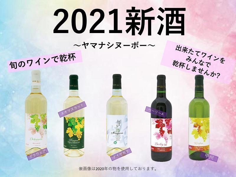 【先行受付】2021新酒ワイン5本セット