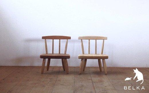 国産山桜 こども椅子bcc-1