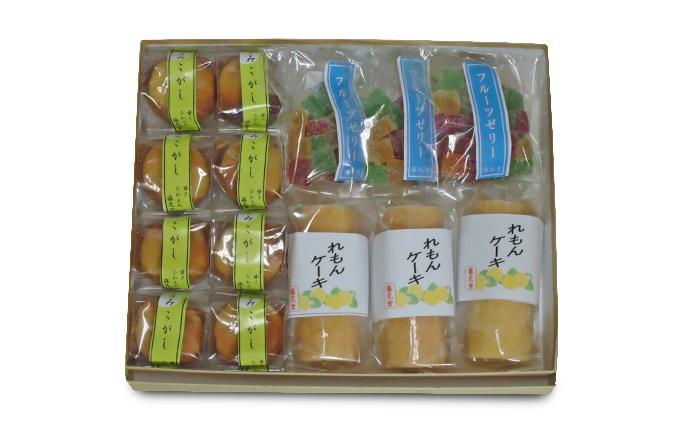 袋井の老舗「藤花堂」お菓子詰合せ