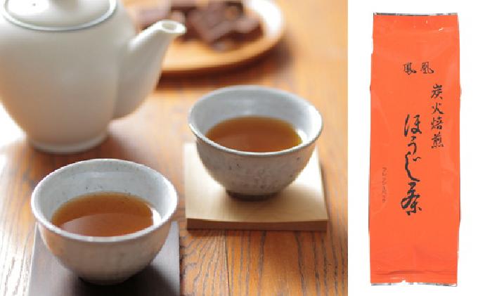 炭火焙煎 ほうじ茶 鳳凰 100g×6袋