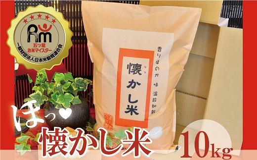 【お米マイスター】ほっ♡懐かし米 10kg H056-002