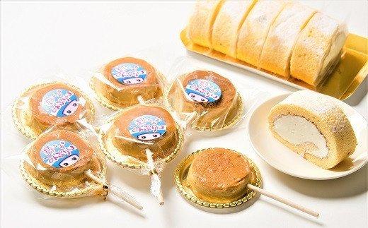 みりん粕のロールケーキと凍るみぷりん H012-011