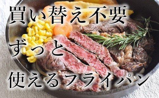 おもいのフライパン 24cm(深型) 世界で一番お肉がおいしく焼けるフライパン H051-009