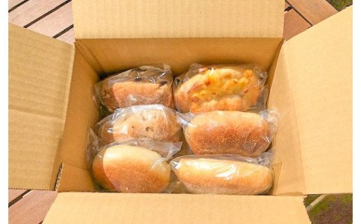 国産小麦・天然酵母 石窯焼きパンセット 6個 H069-006