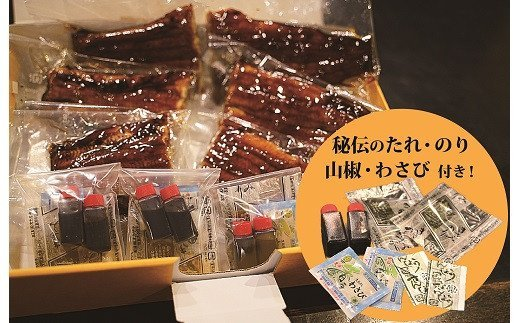 三河一色産 鰻蒲焼き 珠玉の逸品 3尾 H106-002