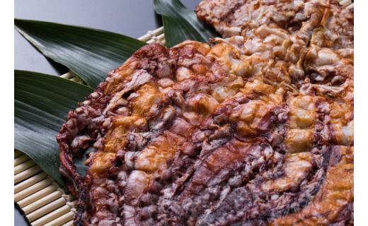 Y047.三河湾産たこ生姿焼き、生せんべい、海苔と手焼きえびせんべいなどのセット15-C