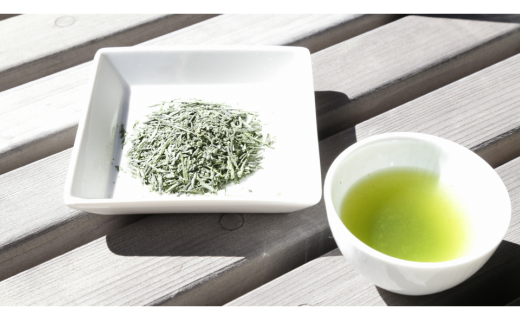 A065.西尾抹茶入煎茶と急須のセット