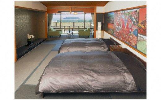 K022吉良温泉・吉良観光ホテル「吉良の間」宿泊ペア宿泊券