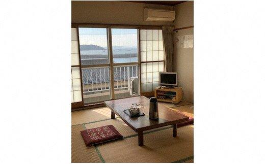 O008吉良温泉・民宿オサキのペア宿泊券(バーベキュー付き)