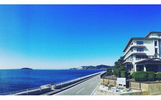 M014「海辺の絶景旅館」みかわ温泉海遊亭 平日限定ペア宿泊券(1泊2食)