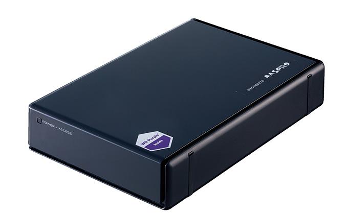 防犯カメラ録画用外付ハードディスク(2TB)