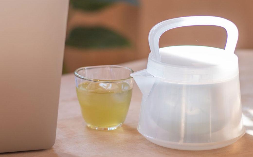 十年急須 翡翠色 茶器 急須