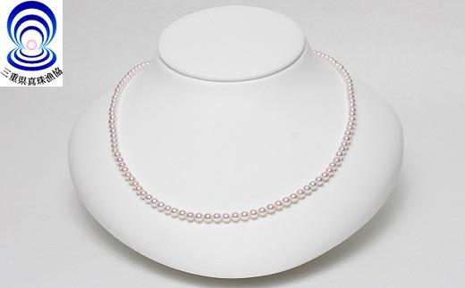 【180-09】三重ブランド アコヤ真珠3.5ミリ~4.0ミリ ベビーネックレス*