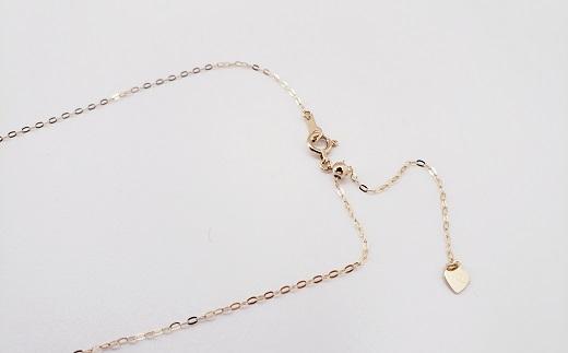 【040-08】金色に輝き放つアコヤ真珠 ゴールドパールのプチペンダント*