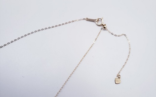 【100-50】アコヤ真珠無調色シャンパンカラーのロングペンダント*
