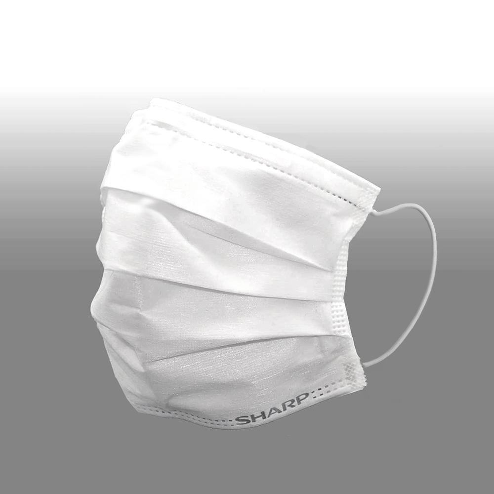 SH-02 シャープ製不織布マスク ふつうサイズ 30枚入×6箱