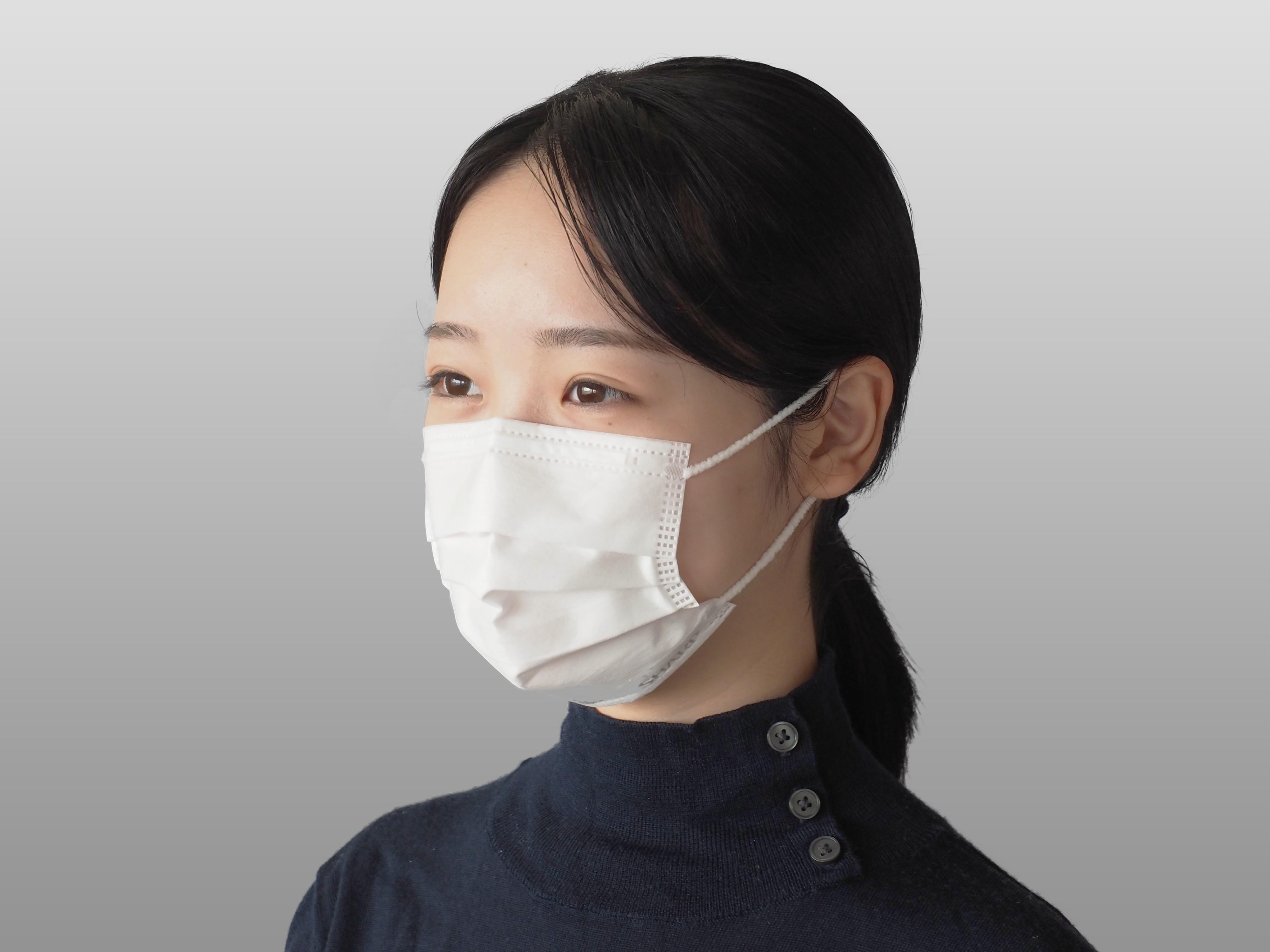 SH-05 シャープ製不織布マスク 【小さめサイズ】30枚入×6箱