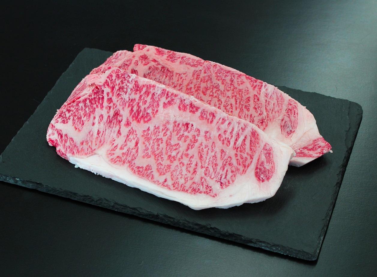 SS-102 高校生が肥育した松阪牛サーロインステーキ