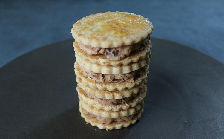 和知栗のバターサンドクッキー4個セット