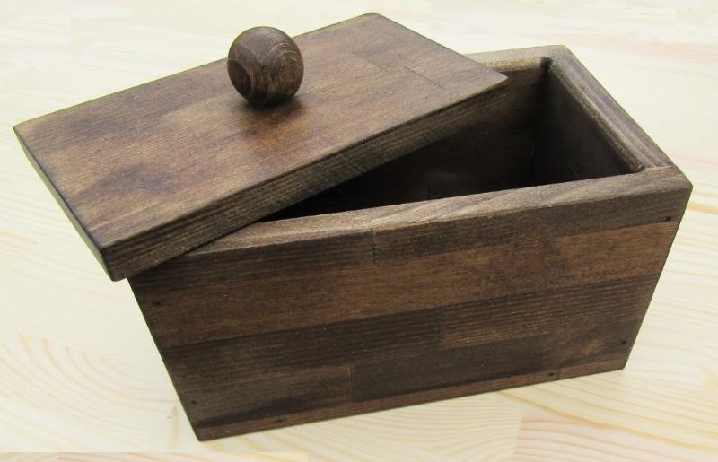 099H300 手作り木製マスクストッカー(エボニー)