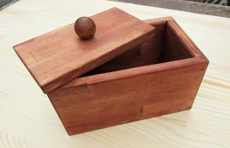 099H302 手作り木製マスクストッカー(チェリー)