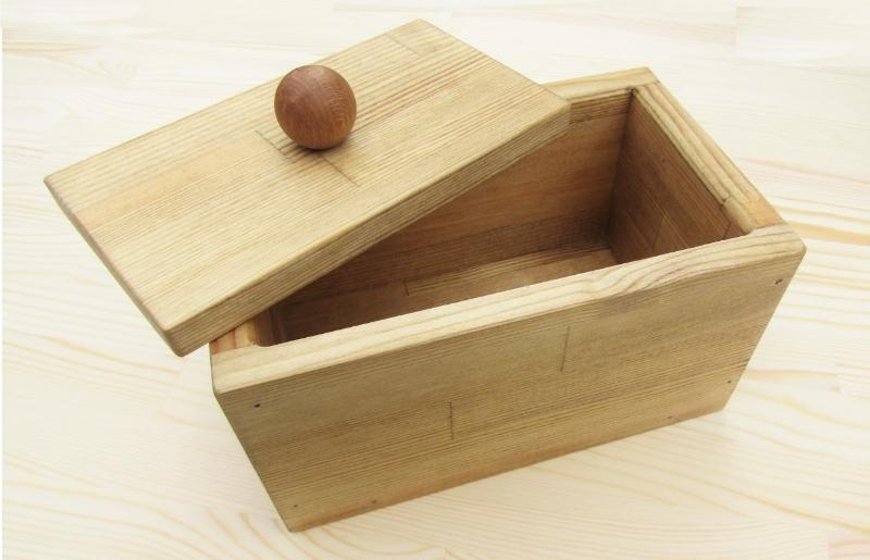 099H304 手作り木製マスクストッカー(ミディアムウォルナット)