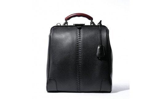 豊岡鞄 YOUTA LIZARD 3WAY 縦ダレス(YK-3M)ブラック