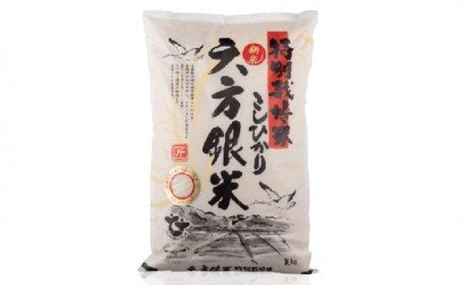 特別栽培米こしひかり 六方銀米 白米10kg