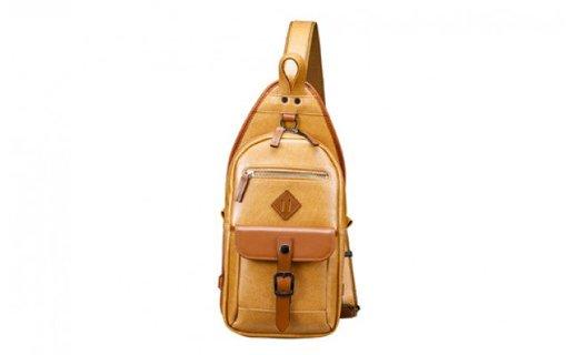 豊岡鞄 ボディバッグ(24-414) キャメル
