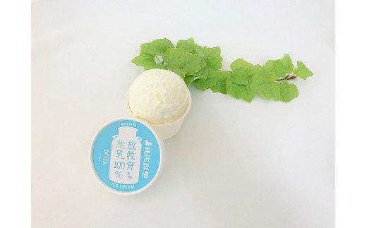 I085 【黒沢牧場】ミルクアイスクリーム6個セット