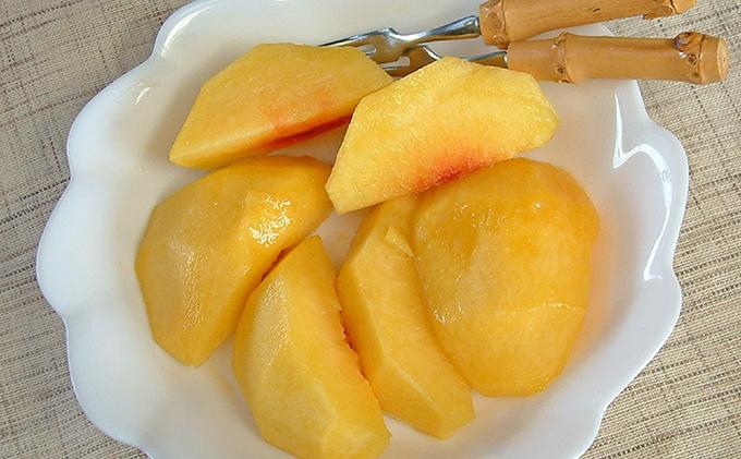 ●先行予約●赤磐市産 黄金桃 約2.0kg 6~8玉
