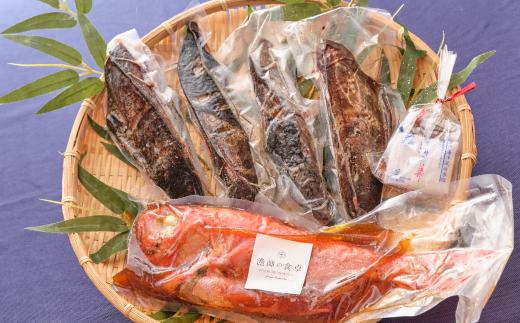 華金目(金目鯛)の煮付けと完全藁焼き鰹のタタキセット(大家族用)