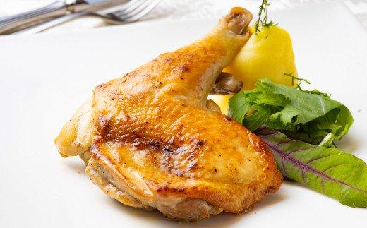 【無添加】骨付きはちきん地鶏のガーリック味2本付(約500g)