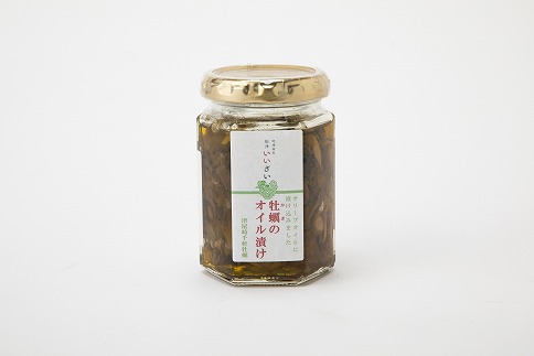 津屋崎千軒かきのオリーブオイル漬け2本セット[C0030]
