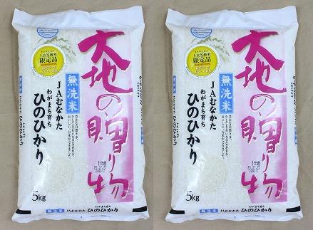 【福岡県産米】無洗米ヒノヒカリ10kg 令和3年産[C2238]